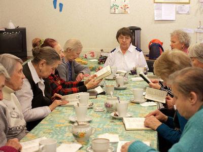 Служение пожилым людям