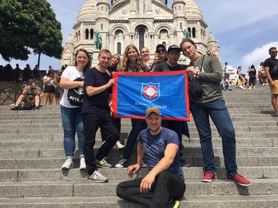 Скауты Армии Спасения из России присоединились к юбилейному слёту скаутов во Франции